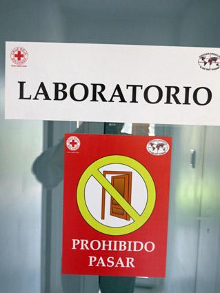 Einweihung TB Labor Santa Cruz