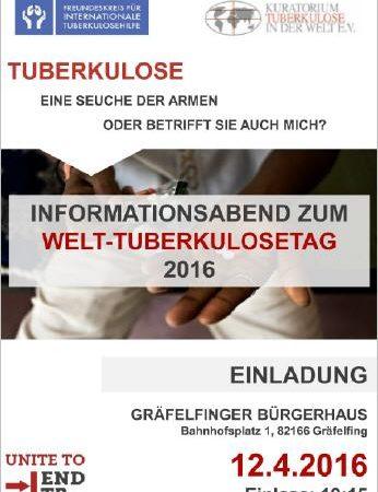 Welt-TB-Tag 2016 - Infoflyer