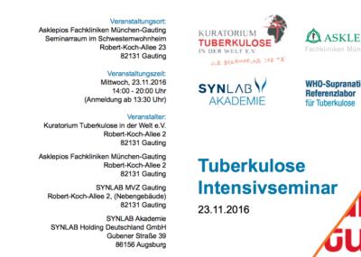 Tuberkulose Intensivseminar 2016