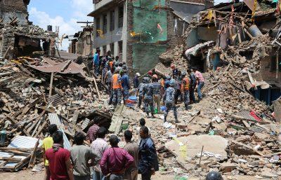 Spendenaufruf Kuratorium Tuberkulose - Erdbeben Nepal 2015