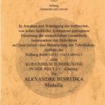 Alexandre Besredka Medaille