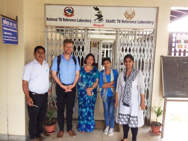 Unterwegs zur Bekämpfung der TB - Nepal 2017