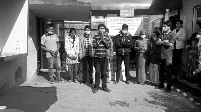 TB Hospital Nepal - Kuratorium TB